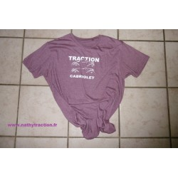 T shirt Traction cabriolet Violine