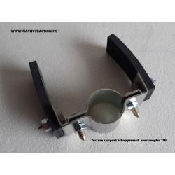 Une ferrure support tube chappement 11B