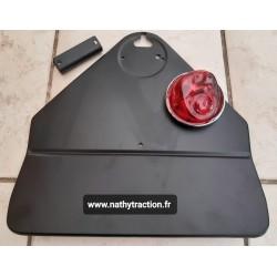 Kit plaque police MP AV 52 avec lanterne