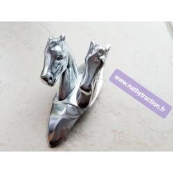 Mascotte 2 têtes chevaux 2CV CITROËN