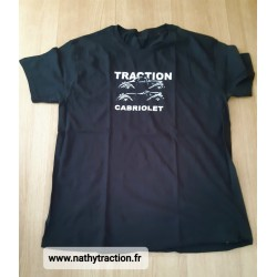 tee shirt TRACTION noir
