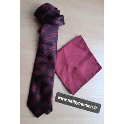 Duo cravatte et pochette