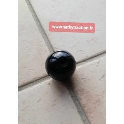 Pommeau de levier de vitesse noir 2CV avec bague