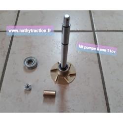 Kit pompe à eau 11CV
