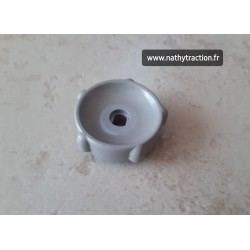 molette en plastique gris volet d'air pour 2CV CITROËN