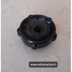 Molette plastique noir volet air pour 2CV CITROËN